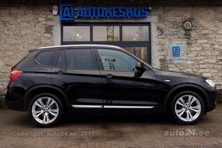 BMW X3 d xDrive DISTRONIC FACELIFT 2.0 140kW