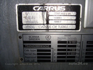 Scania SCANIA CARRUS K124EB STAR 602 309kW