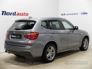 BMW X3 20d xDrive M-pakett 2.0 135kW