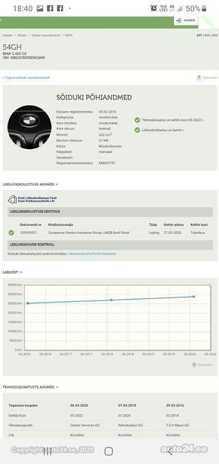 BMW G 650 Gs 37kW