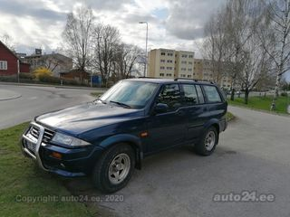 SsangYong Musso 3.2 161kW
