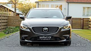 Mazda 6 AWD Sport Wagon Luxury High Executve Facelift 2.2 SKYACTIV-D i-ELOOP R4 129kW