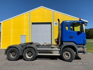Scania R480 Hüdraulika 6x4 12.0 R6 353kW
