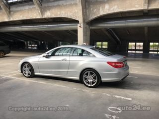 Mercedes-Benz E 350 AMG package 3.0 CDI 170kW