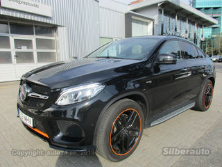 Mercedes-Benz GLE 43 AMG Coupe Designo Distronic 3.0 287kW