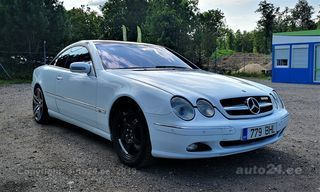 Mercedes-Benz CL 500 5.0 225kW