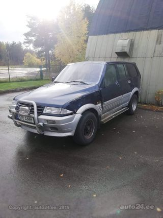 SsangYong Musso 2.9 70kW