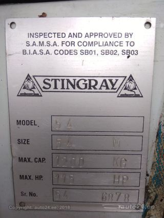 Stingray Mercury 90