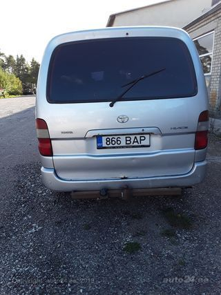 Toyota Hiace Full D4d long 2.5 Tdi 86kW