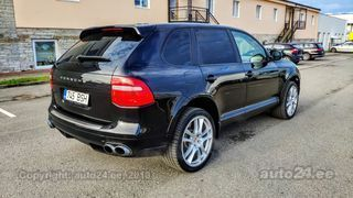 Porsche Cayenne Turbo Facelift 2008 4.8 368kW