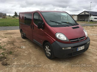 Opel Vivaro Long 2.5 99kW