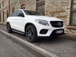 Mercedes-Benz GLE 500 Coupe Night Package 4.7 335kW