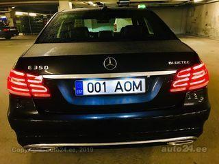 Mercedes-Benz E 350 BLUETEC AMG 3.0 185kW
