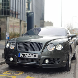 Bentley Continental GT 3W 412kW