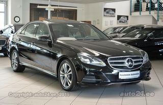 Mercedes-Benz E 350 4MATIC DISTRONIC AVANTGARDE 3.0 190kW