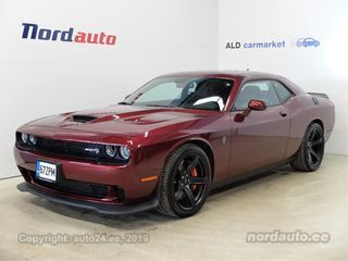 Dodge Challenger SRT HellCat 6.2 Supercharged 527kW