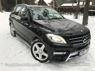 Mercedes Benz Ml 350 Amg Line Bluetec 3 0 190kw Auto24 Lv