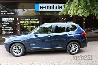 BMW X3 3.0 190kW