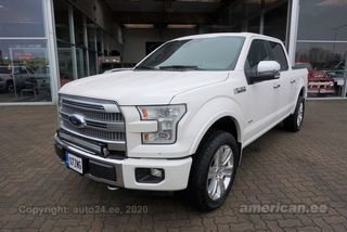 F150 Supercrew Cab >> Rasketehnika Ee Ford F 150 Platinium Supercrew Cab 3 5 V6