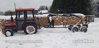 Yanmar Super forte 20D + metsaveohaagis vahva jussi 320 1.4 25kW
