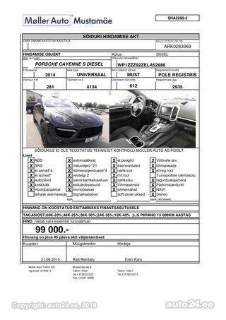 Porsche Cayenne 4.1 281kW