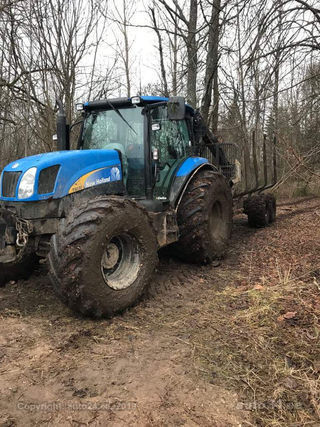 New Holland T6030 Delta Metsaveohaagis Palms