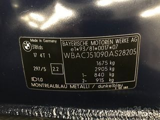 BMW 318 TDS Compact Edition 1.7 TDS r4 66kW