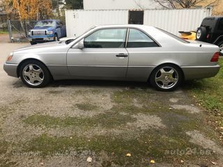 Mercedes-Benz CL 500 w140coupe 5.0 v8 235kW