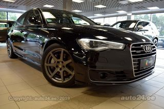 Audi A6 QUATTRO S-LINE DRIVER ASSIST SAFETY MY2016 3.0 160kW