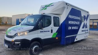 Iveco Daily 70C18H D Worxpace liikuv töökoda 3.0 132kW