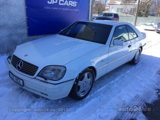Mercedes-Benz CL 600 V12 6.0 V12 290kW