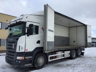 Scania R560 6x2+SIDE OPENING+BOX 412kW