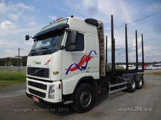 Volvo FH13 Timber 6x4 6-sylinder