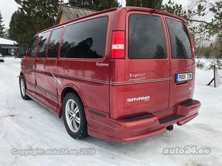 GMC Savana Explorer AWD V8 214kW