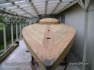 Draakon / Dragon wooden yacht