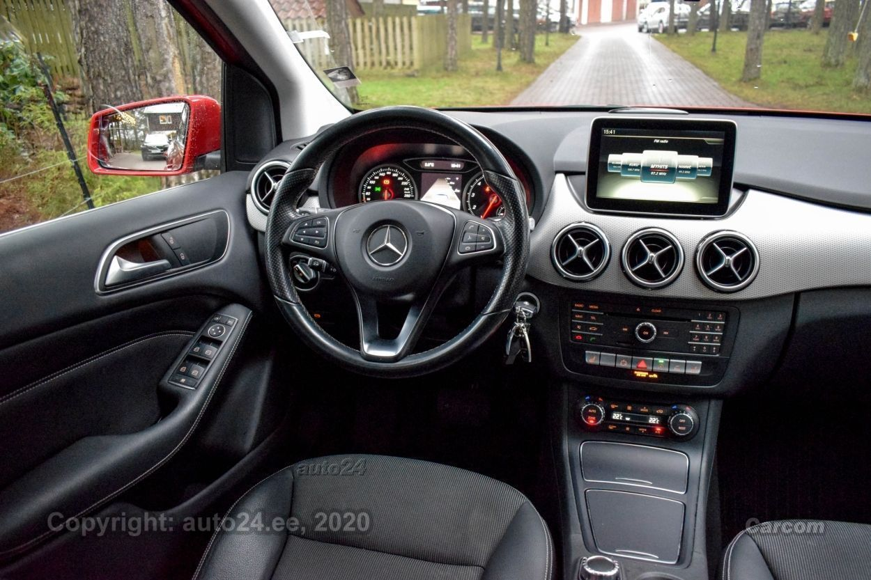 Mercedes-Benz B 200 CNG Natural Gas Sports Tourer 7G 2.0 NaturalGas 115kW