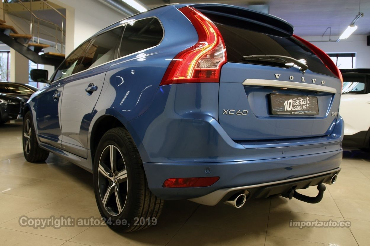 Volvo XC60 AWD R-DESIGN INTELLI SAFE WINTER PRO 2.4 D4 140kW