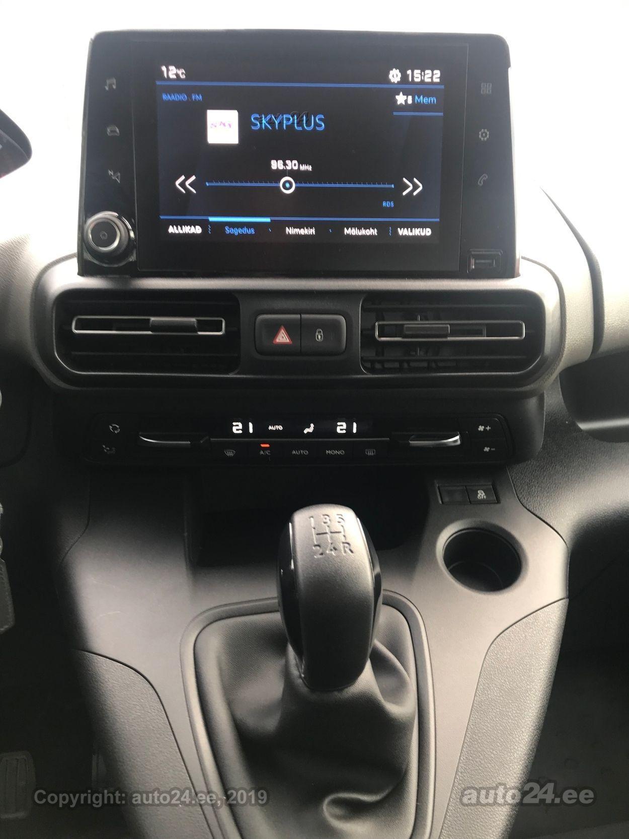 Peugeot Rifter Active PLUS L2 1.5 BlueHDI 75kW
