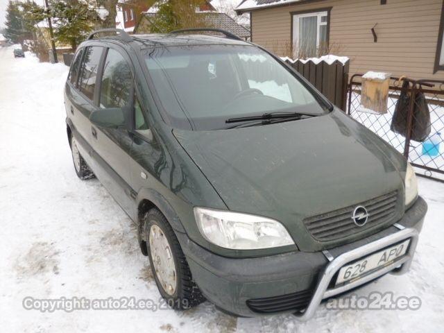Opel Zafira 2.0 74kW