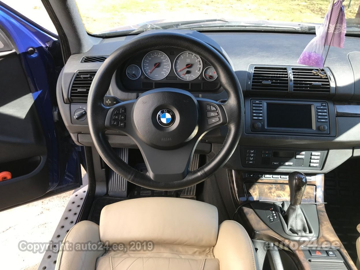 BMW X5 is 4.8 v8 265kW