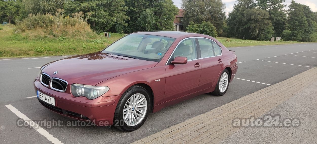 BMW 735 3.6 200kW