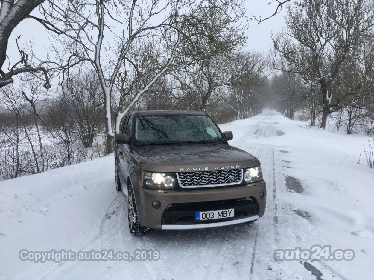 Land Rover Range Rover Sport autobiography 3.0 V6 188kW