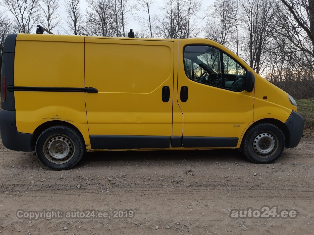 Opel Vivaro F7 1.9 60kW