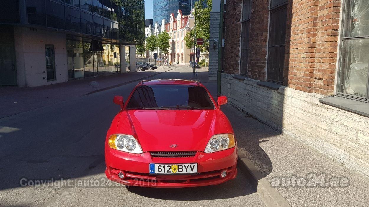 Hyundai Coupe 2.7 V6 123kW