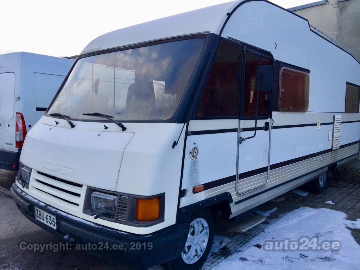 Fiat Ducato SOLIFER XXL Winter Pakett 2.0
