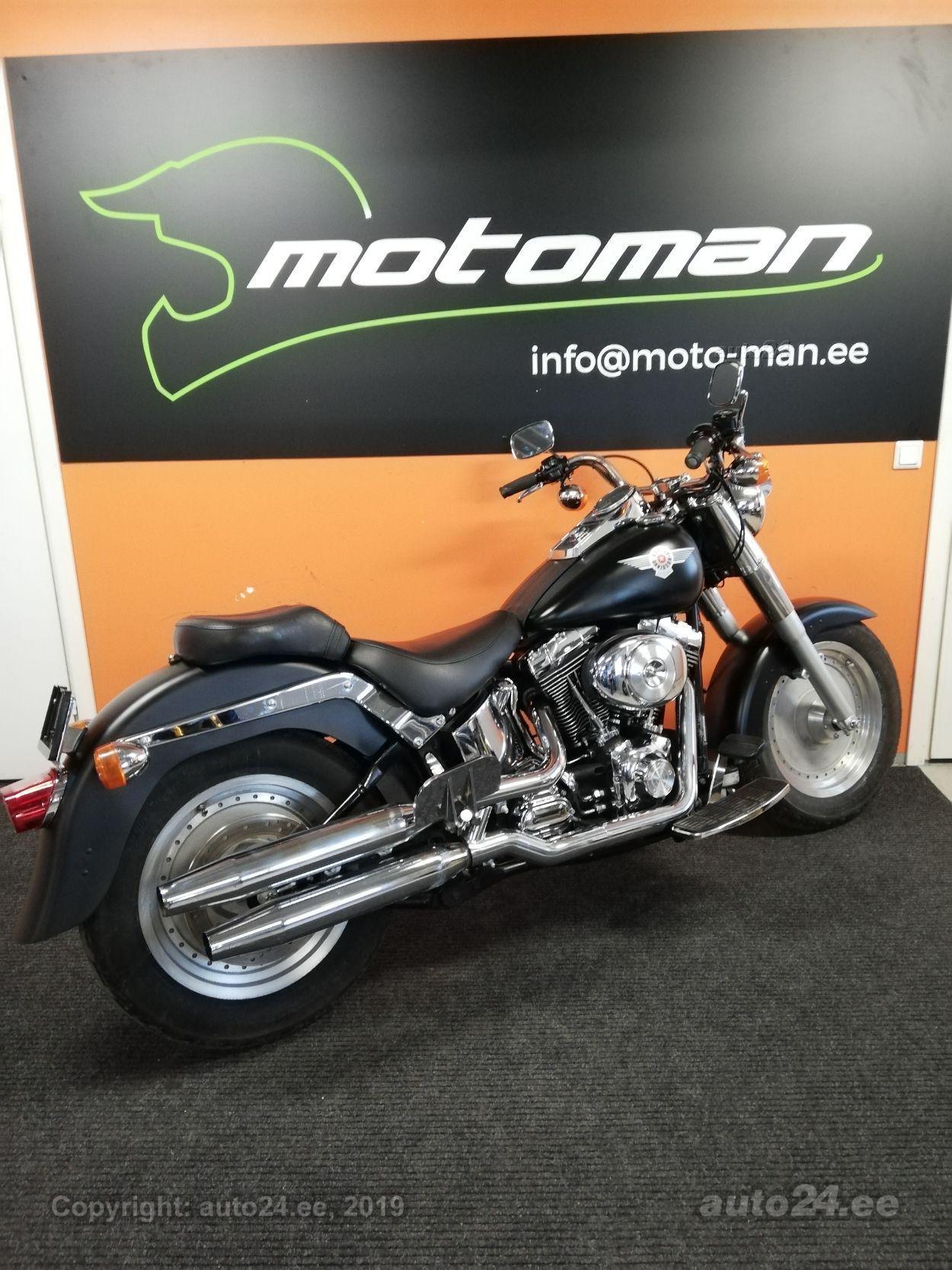 Harley-Davidson Fat Boy FLSTF V2 49kW