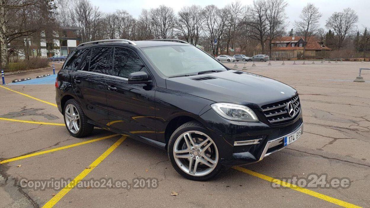 Mercedes Benz Ml 350 Amg 3 0 190kw Auto24 Lv