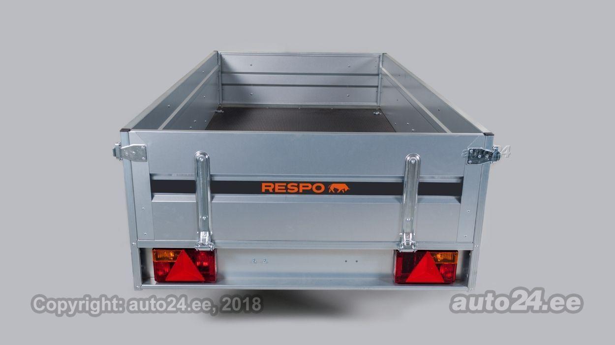 Respo Kastihaagis 2.65x1.25m 750kg PLH - poordiga 0.42m