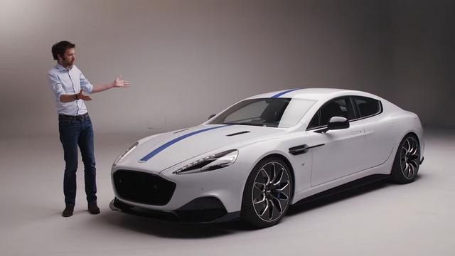 Aston Martin Rapide E. Kaader: Youtube