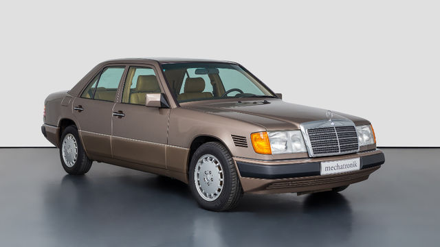 Mercedes-Benz 300D Turbo. Foto: Mechatronik